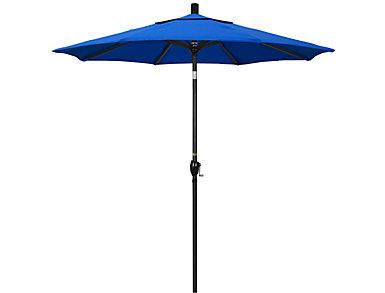 Waipahu 7.5' Blue Umbrella, , large