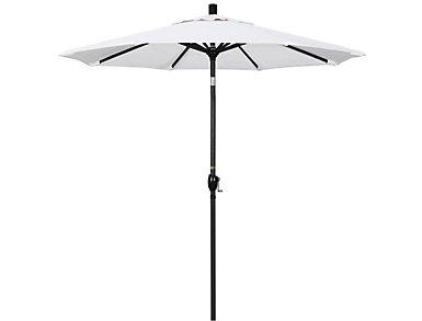 Waipahu 7.5' White Umbrella, , large