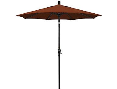 Waipahu 7.5' Clay Umbrella, , large