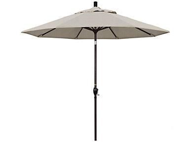 Waianae 9' Granite Umbrella, , large