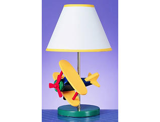 Kids Airplane Table Lamp, , large