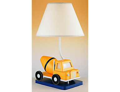 CEMENT TRUCK LAMP W/ NITE LT, , large