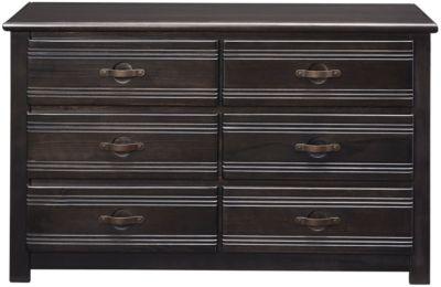 creekside 6 drawer dresser charcoal