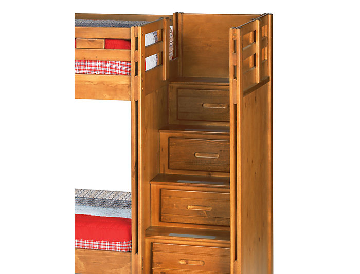 Twin Step Bunk Bed, , large