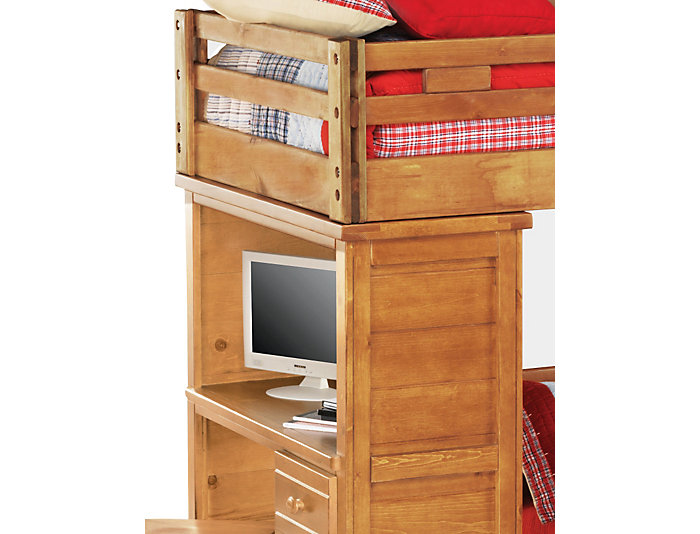 Twin Step Loft with Desk, , large