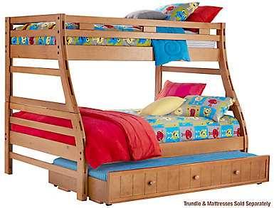 creekside taffy twin over full bunk bed