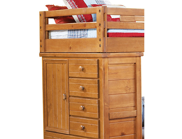 Twin / Full Loft with Chest, , large