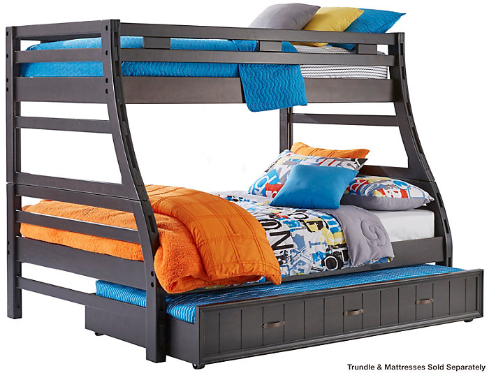 Twin / Full Bunk Bed, , Large ...
