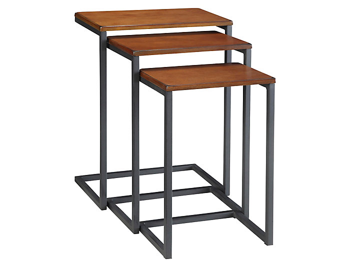 Kelsie 3pc Set Nesting Tables, , large