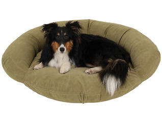 Biscuit Small Pet Bed, Green, , large