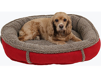 Harley Small Pet Bed, Red, , large