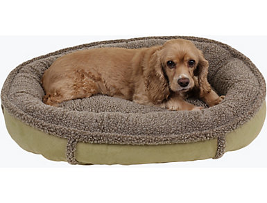 Harley Small Pet Bed, Green, , large