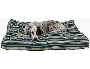 Zoe Medium Pet Bed, Green, large
