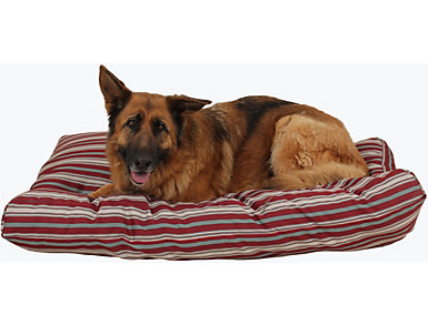 Zoe Large Pet Bed, Red, large