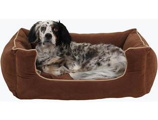 Lola Medium Pet Bed, Chocolate Brown, , large