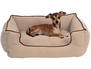 Lola Small Pet Bed, Beige, , large