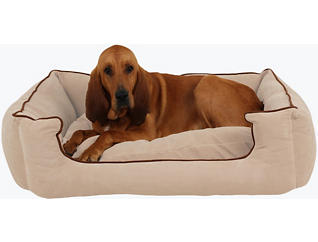 Lola Extra Large Pet Bed, Beige, , large