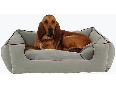 Lola Extra Large Pet Bed, Blue, , large