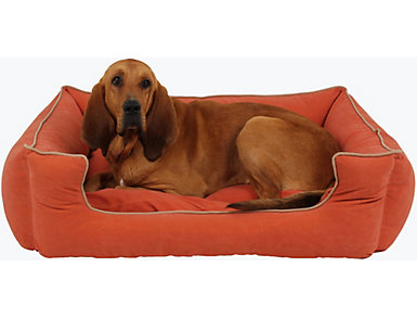 Lola Large Pet Bed, Red, , large