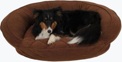 Gus Small Pet Bed, Chocolate, swatch