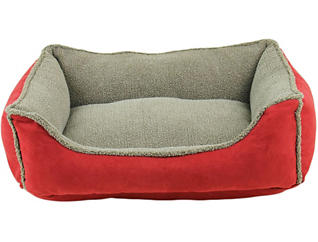 Lucky Medium Pet Bed, Red, , large
