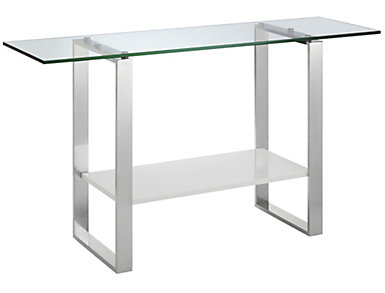 Starr High Gloss Console Table, , large