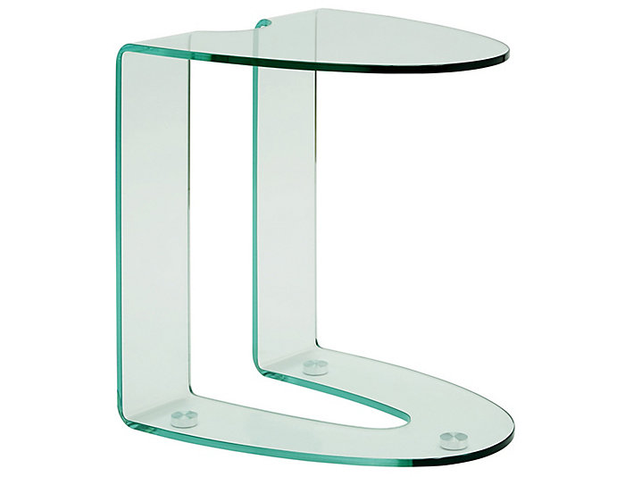 Wheatley Clear End Table, , Large