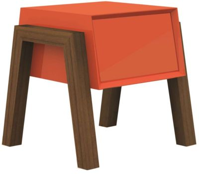 Milton Orange End Table