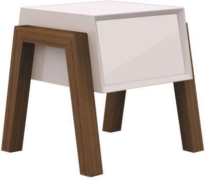Milton End Table, White, swatch