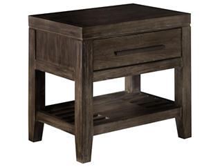 Bravo 1 Drawer Nightstand, , large