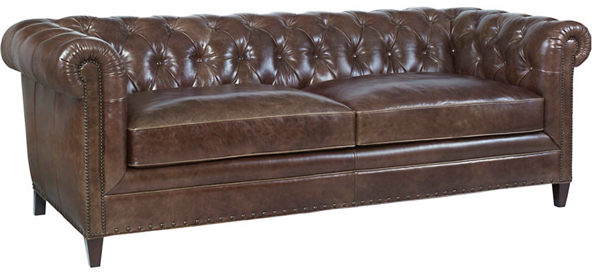 Beaumont Leather Chesterfield Sofa