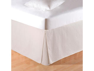 Cream Queen Bed Skirt, , large