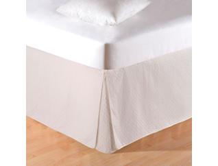 Cream King Bed Skirt, , large