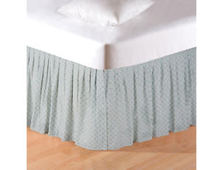 Amherst Blue Queen Bed Skirt, , large