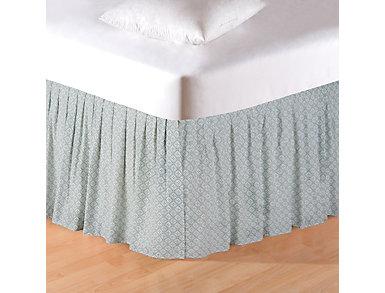 Amherst Blue King Bed Skirt, , large