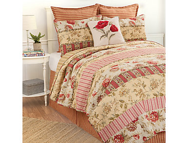 Lucy Full/Queen Quilt Set, , large