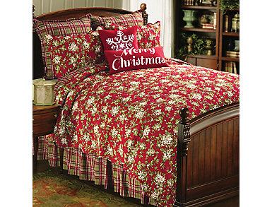 Mistletoe King 3Pc Quilt Set, , large