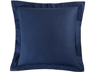 Solid Blue Euro Sham, , large