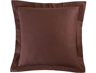 Brown Euro Sham, , large