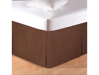 Brown Queen Bed Skirt, , large