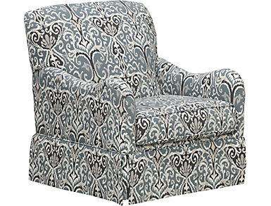 Wren Swivel Glider Chair, , large