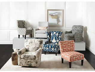 Accent Chairs for the Living Room   Art Van Home