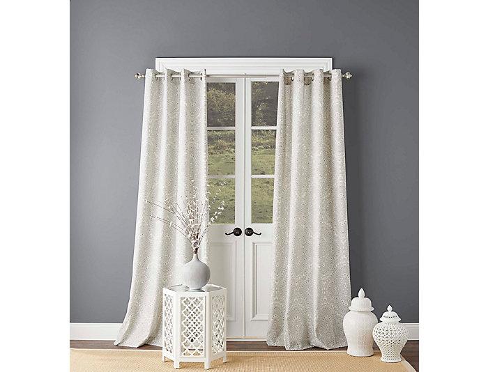 """Ziba Grey 95"""" Window Panel, , large"""