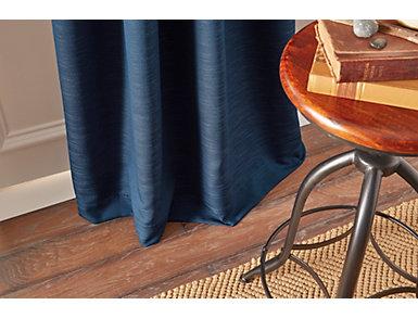 """Landon Indigo 84"""" Window Panel, Blue, large"""