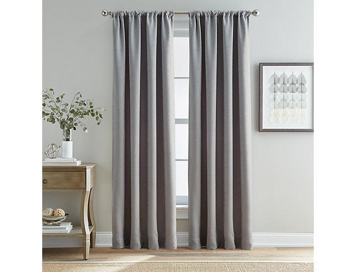 "Mayfair Grey 84"" Window Panel, , large"