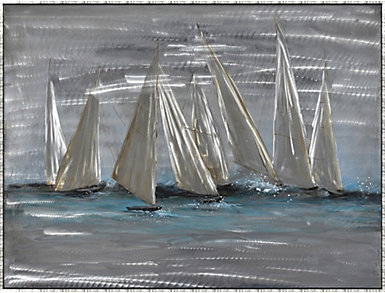 Group of Sailboats Wall Art, , large