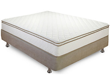Classic Brands 10-Inch Pillowtop Queen Mattress, , large