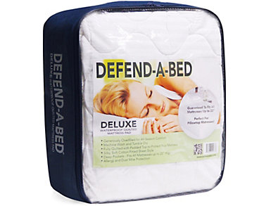 Classic Brands Defend-A-Bed Deluxe Full Mattress Protector, , large