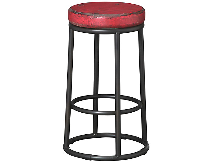 JADEN COUNTER STOOL - RED, , large