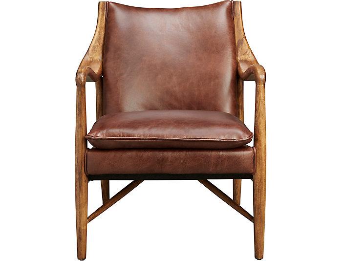 Kiannah Accent Chair, Brown, , large